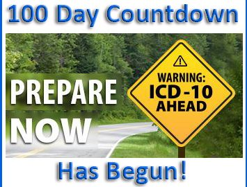ICD-10: The 100 Day Countdown Begins!