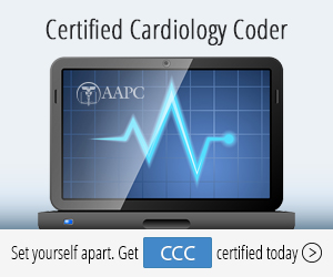 Certified Cardiology Coder (CCC) Credential