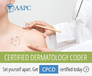 Certified Professional Coder in Dermatology CPCD