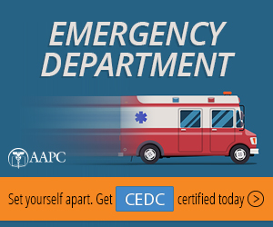 Certified Emergency Department Coder CEDC