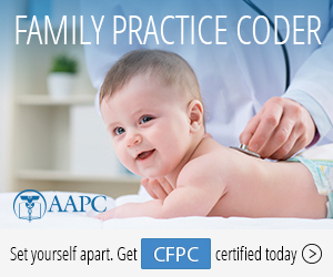 Certified Family Practice Coder CFPC