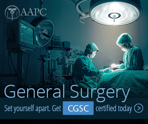 Certified General Surgery Coder CGSC