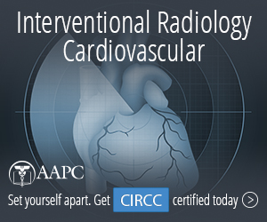 Certified Interventional Radiology Cardiovascular Coder CIRCC