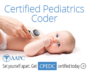 Certified Pediatrics Coder CPEDC