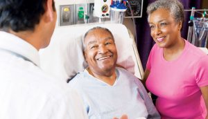 Patient using new Medicare card