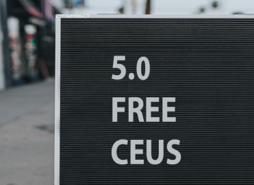 Maintain Your Credentials with Free CEUs