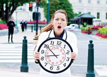 Optimal Time to Remind Patients of Appointments