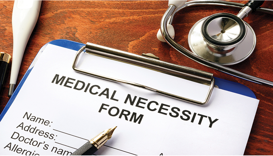Appeal for medical necessity