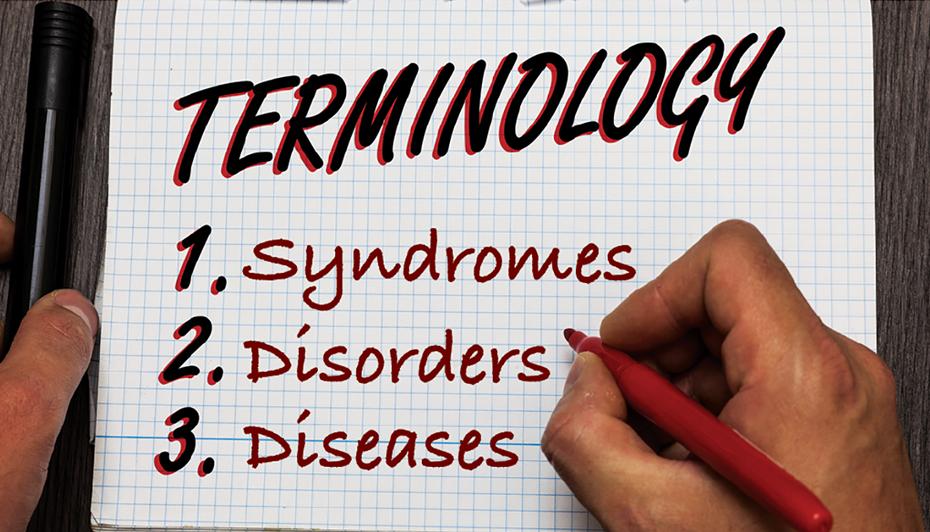 Disease terminology
