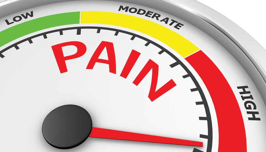 Pain meter