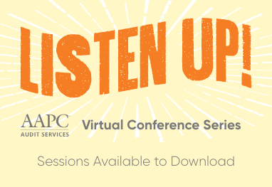 Listen Up Virtual Conference E/M Changes Series - Sessions Available to Download