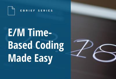 eBrief E/M Time Based Coding