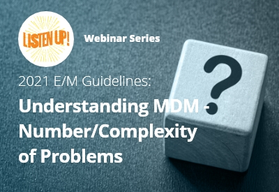 Understanding MDM- Number/Complexity of Problems