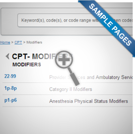CPT® Modifiers